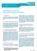formulaire u1 belgique
